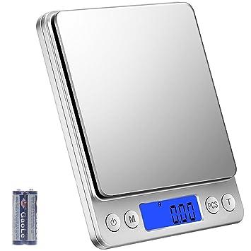Digitale Kuchenwaage Digitalwaage 3kg 0 1g Klein Feinwaage Mini
