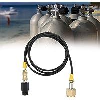 1.5m W21.8-14 DIN477 CO2-tankadapter Soda hogedrukslangset Eenvoudig te vervangen accessoires voor SodaStream Home…
