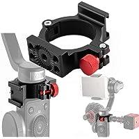 4-Rings V2 Cold Shoe 1/4 Adapterringsklämma med Cold Shoe-kompatibel för Zhiyun Smooth 4 appliceras på Rode-Mikrofon LED…