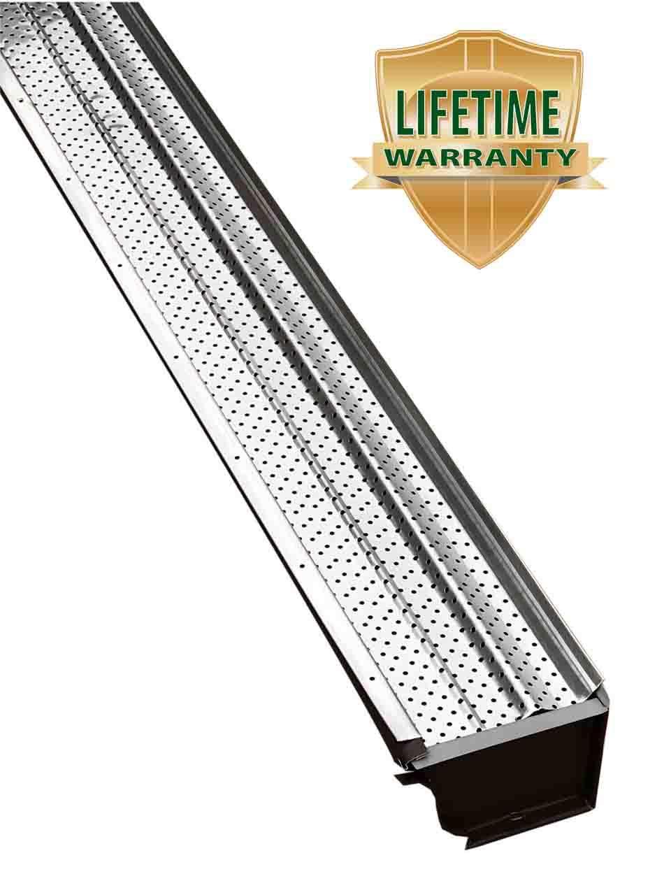 A-M Aluminum Gutter Guard 5'' - 200 feet