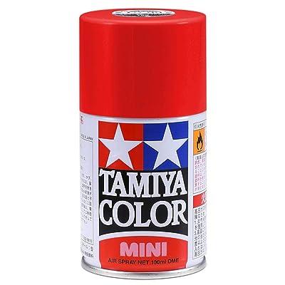Tamiya America, Inc TS-95 Metallic Red, 100ml Spray Can, TAM85095: Toys & Games
