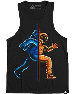5265a77f004519 Amazon.com  INTO THE AM Men s Vibrant All Over Print Sleeveless Tank ...