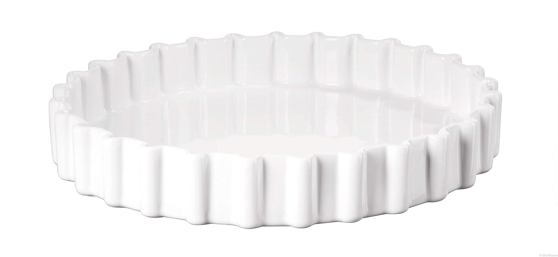 Keramik Wei/ß ASA Tarte Form 30 cm