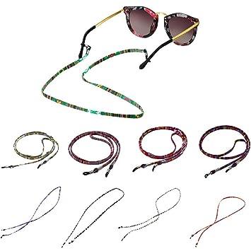 Amazon.com: CapsA - Cadenas para gafas de sol, correa para ...