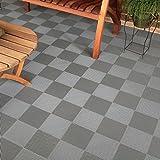 BlockTile Flooring Perforated Interlocking Tiles