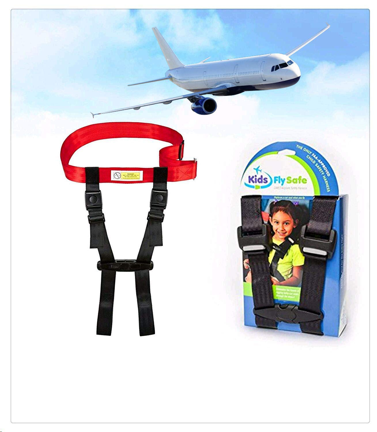 Child Airplane Travel Harness - Cares Safety Restraint System -Truly The Only FAA Approved Child Flying Safety Device,Baby Products,Car Seats & Accessories Booster