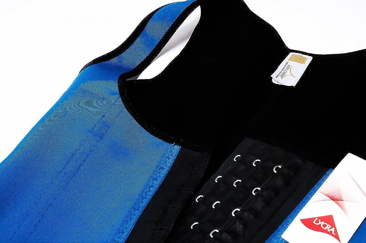 Ann Chery Womens 3 Hook Long Deportiva Latex Vest Body Shaper 2022