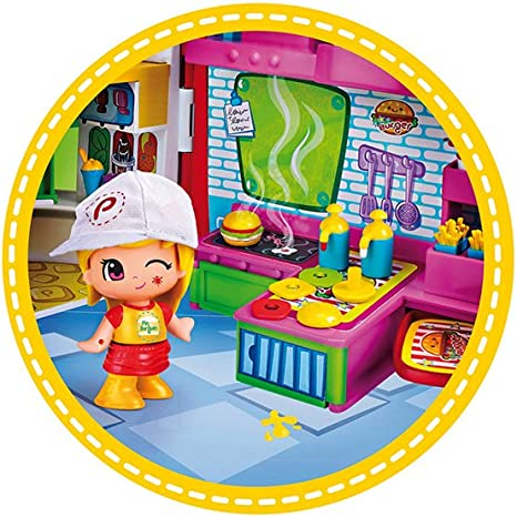 PinyPon PlaySet burger shop  700014344  Famosa