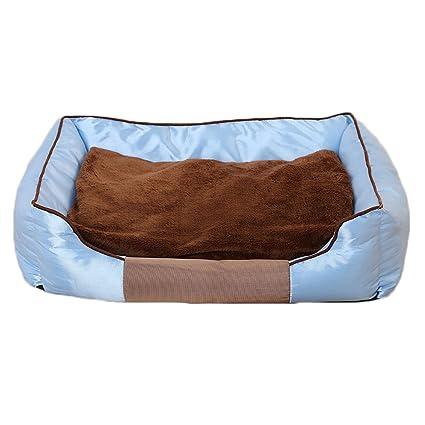 GCHOME Cama de Perro Cama para Mascotas Oxford paño Nido de Perro Suave y cómodo Transpirable