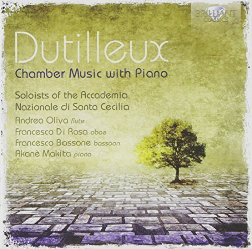 Price comparison product image Dutilleux: Chamber Music with Piano by Brilliant Classics