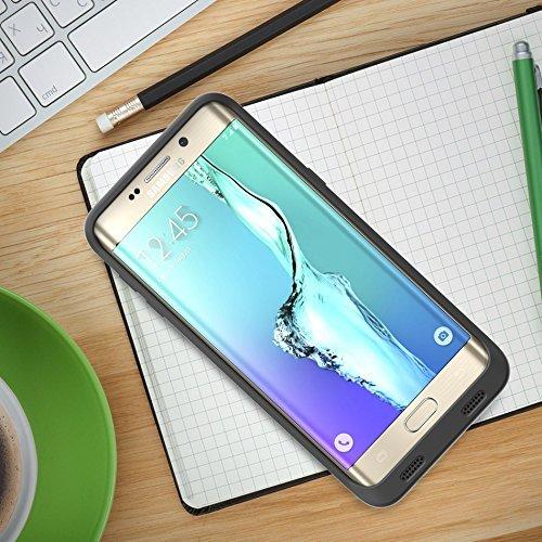brand new c8e59 a0859 ZeroLemon Galaxy S6 Edge Plus 8500mAh Extended Charger: Amazon.co.uk ...