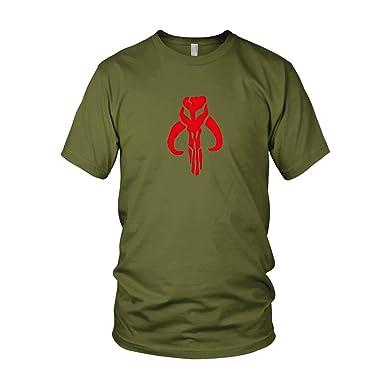 Mandalorianer Logo - Herren T-Shirt, Größe: S, Farbe: army