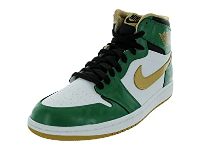 d5e7cd59a75dfe Jordan Air 1 Retro High OG Men s Shoes Clover Metallic Gold-White-Black