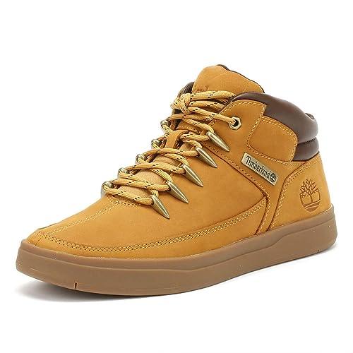 0c29e89fead62d Timberland Davis Square Uomo Wheat Mid Hiker Sneaker: Amazon.it: Scarpe e  borse