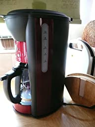 Logik Coffee Maker Jug : Logik 12 Cup RED Digital Display Coffee Maker/Machine: Amazon.co.uk: Kitchen & Home