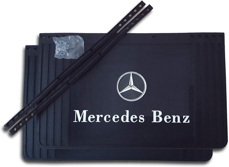 Garde-boue Lot de 2 bavettes Mercedes 650//600//550//500//450 x 400 mm