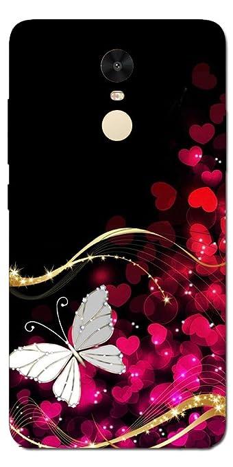 low priced 1dfbf adf9b SEI HEI KI Silicon Printed Designer Back Cover For Xiaomi Mi Redmi Note 4