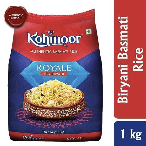Kohinoor Royale Biryani Basmati Rice, 1kg
