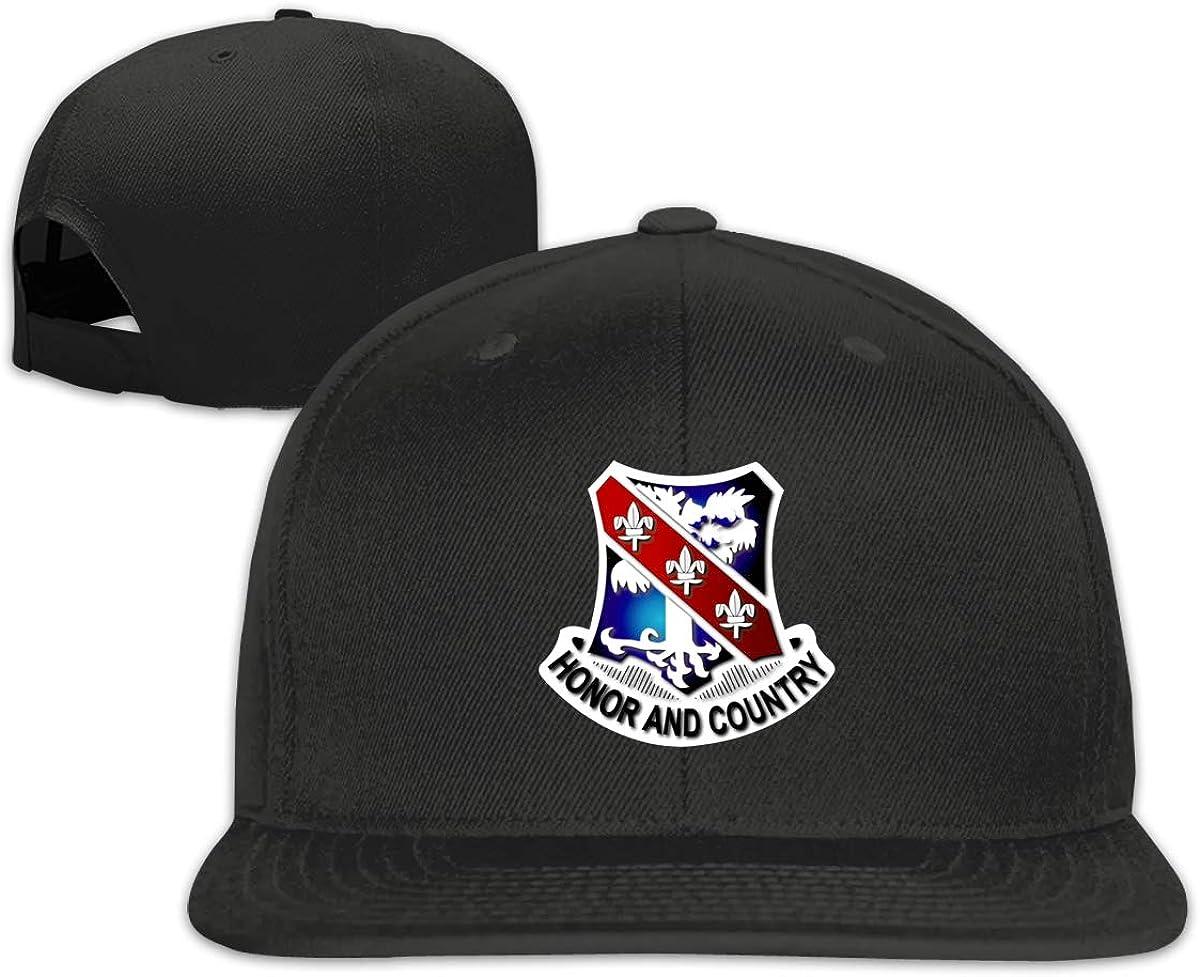 1st Battalion 327 Infantry Classic Caps Flat Along Baseball Hats Snapback Hat Mens Adult Teens
