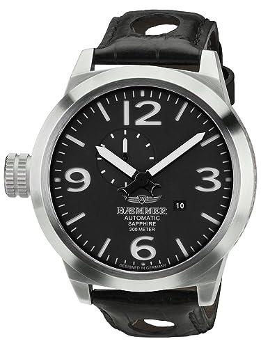 Haemmer HM-10 - Reloj de pulsera de hombre color negro: Amazon.es: Relojes