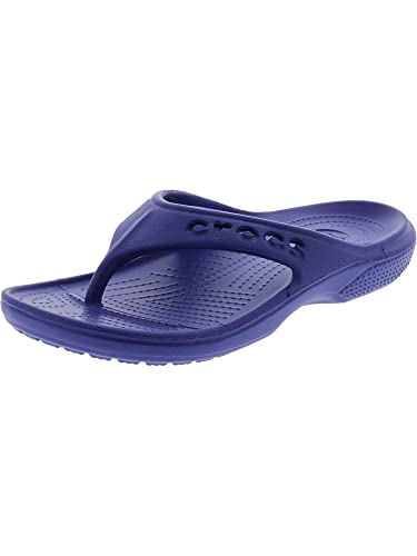 6633d1632 Crocs Baya Flip Sea Blue Ankle-High Sandal - 1M  Amazon.co.uk  Shoes   Bags
