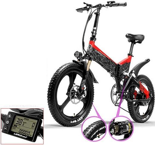 Hxl Bicicleta de montaña eléctrica de 20 Bicicleta eléctrica ...