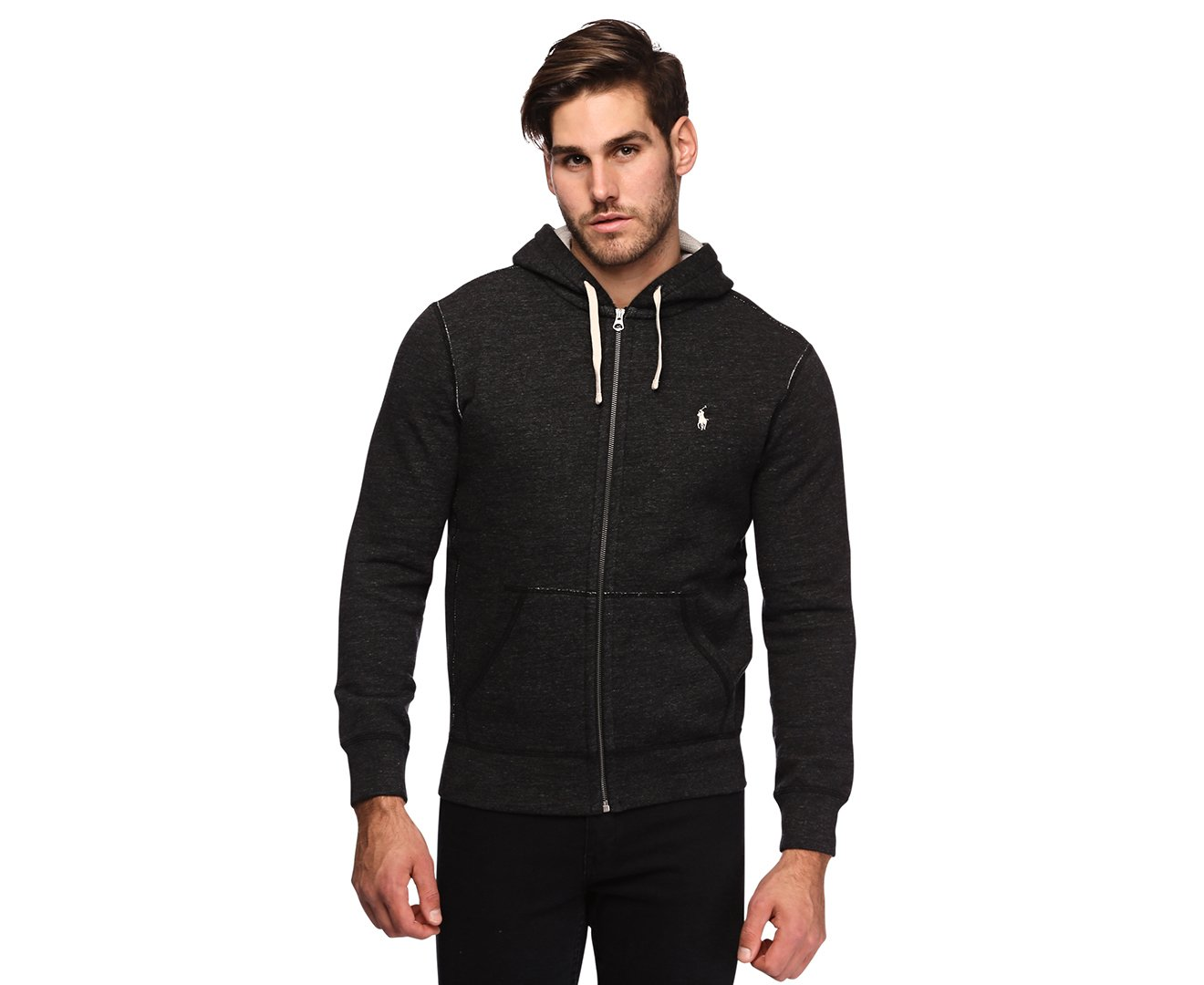 Polo Ralph Lauren Classic Full-Zip Fleece Hooded Sweatshirt