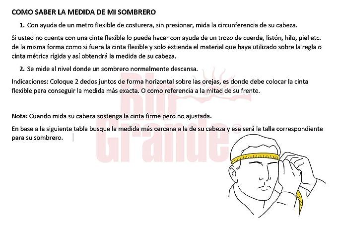 Rio Grande Sombrero-Texana de Lana Fina para Caballero Mod. Maverick 6X   Amazon.com.mx  Ropa ddb32c86502