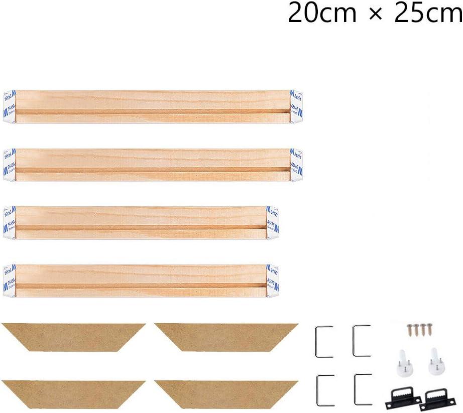 8x24 Inch Stretcher Bars,Wood Canvas Frame Kit,DIY Canvas framm for Oil Painting,Art Stretcher Bars 20x60cm