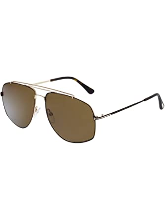 294281408ee2 Image Unavailable. Image not available for. Color  Sunglasses Tom Ford  GEORGES TF 496 FT 28M shiny rose gold   roviex polarized