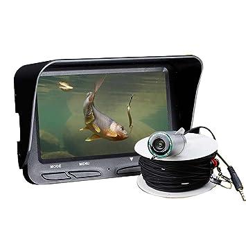 Zanteca - Detector de peces de visión nocturna de alta definición, cámara impermeable para caza de peces: Amazon.es: Coche y moto