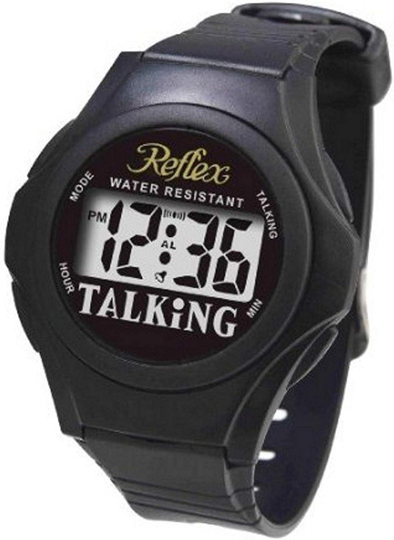 Reflex Reflex TALK01TALK01–Reloj de Muñeca Color Negro