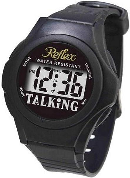 Reflex Talk01 TALK01 - Reloj de Pulsera, Color Negro