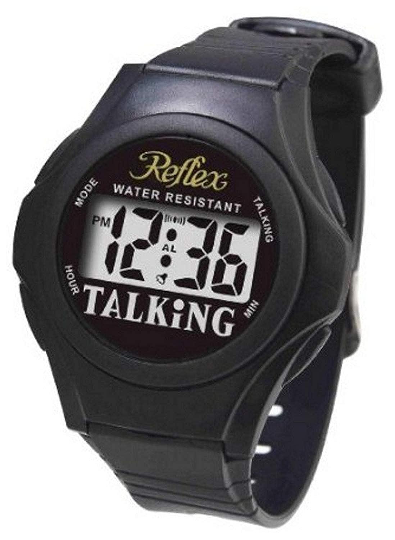 Reflex Reflex TALK01 TALK01 - Reloj de Muñeca Color Negro: Amazon.es: Relojes