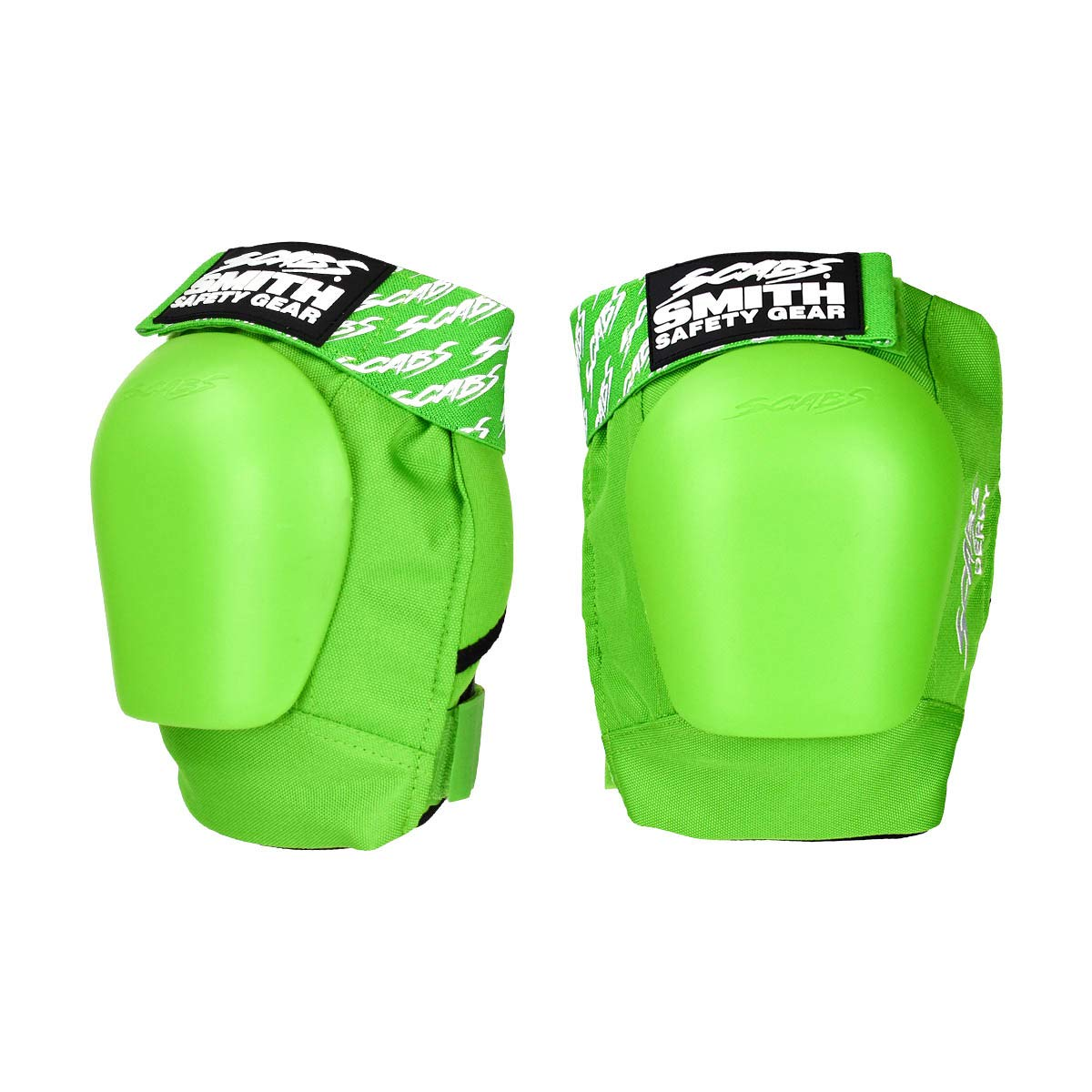 Smith Safety Gear Scabs Derby Knee Pad, Lime, Small