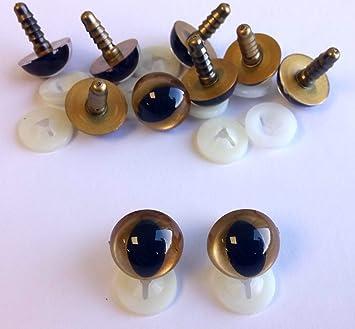 7,5mm 12mm Transparent Amigurumi Tiere Augen/Katzenaugen ...   329x355