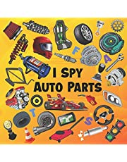 I Spy Auto Parts: ABC Picture Puzzles Book For Future Race Car Drivers   Car Parts Book For Kids, Children, Boys, 2-5 Years Old