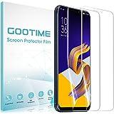 「2枚」Gootime Zenfone 5 ZE620KL フィルム Asus ZenFone 5z ZS620KLフィルム ゼンフォン5 ZE620KL フィルム 薄型 TPU 耐衝撃吸収 高光沢防指紋 自己復元機能 (クリア)
