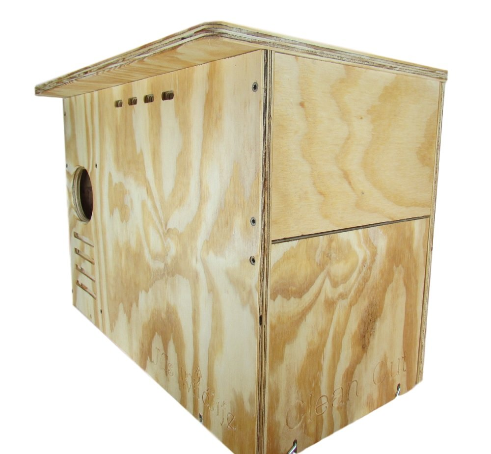 JCs Wildlife Barn Owl Nesting Box Large House Crafted in USA w by JCs Wildlife (Image #3)