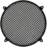 Goldwood Subwoofer Grille and Hardware 15 Steel Waffle Speaker Woofer Grill Black (SWG-15C)