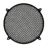 Goldwood Subwoofer Grille and Hardware 15' Steel Waffle Speaker Woofer Grill Black (SWG-15C)