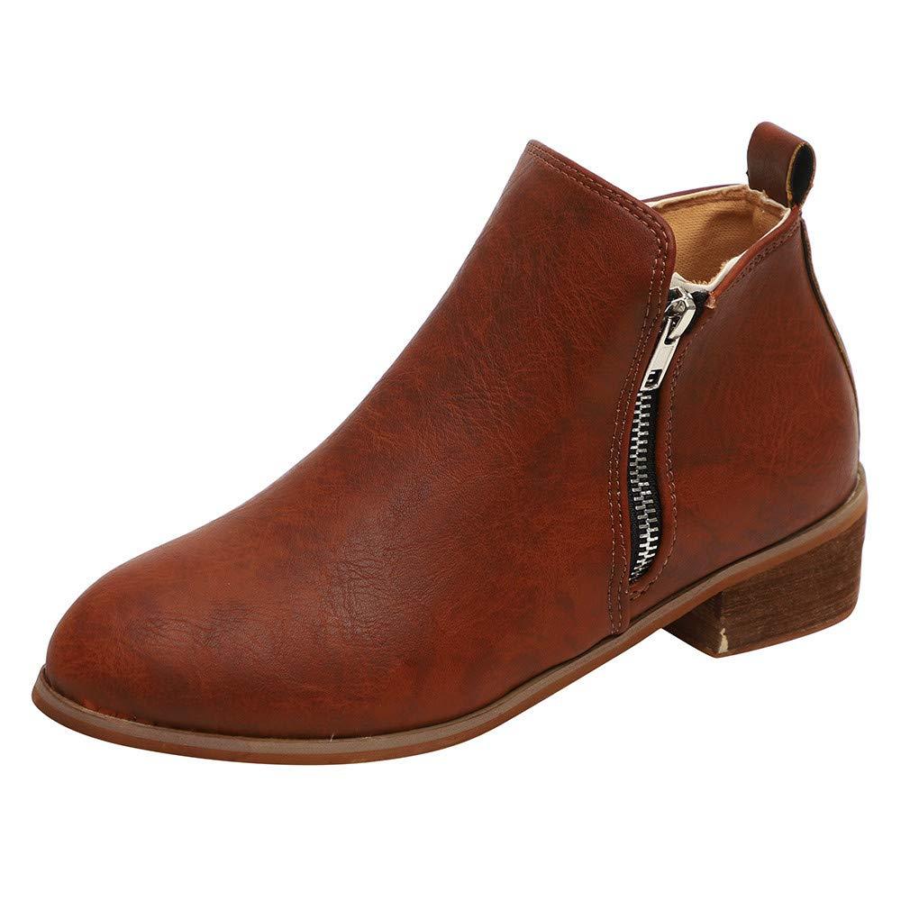 Femme Hiver Bottines Chaud Peluche Bottes De Neige Coton Rembourré Talons CompenséS Chaussures, Ankle Boots Comfort Platform Imprime Fleuri
