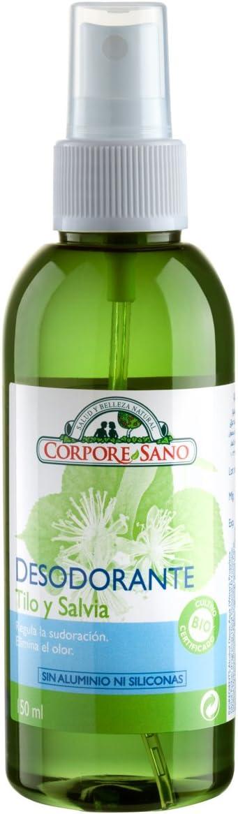 Desodorante Tilo y Salvia