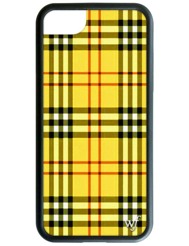 buy online 09480 e59d9 Wildflower Limited Edition iPhone Case for iPhone 6, 7, or 8 (Yellow Tartan)