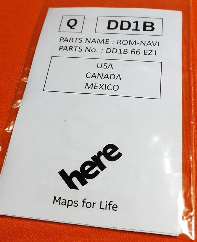 2015-2018 Toyota Navigation Micro SD map card