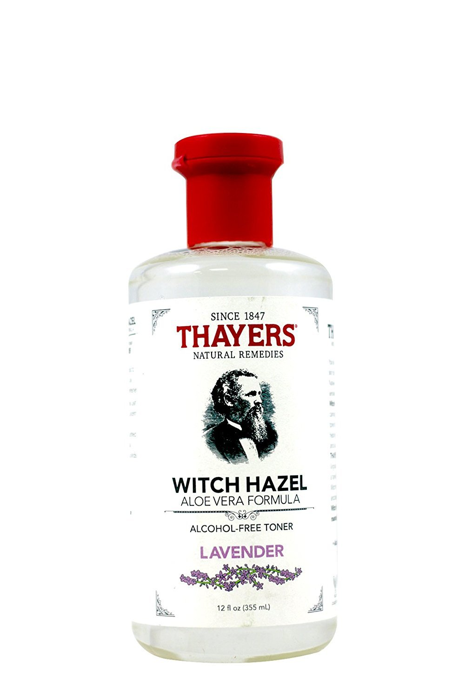 Thayers Lavender Witch Hazel Toner - Alcohol Free & Organic Aloe Vera