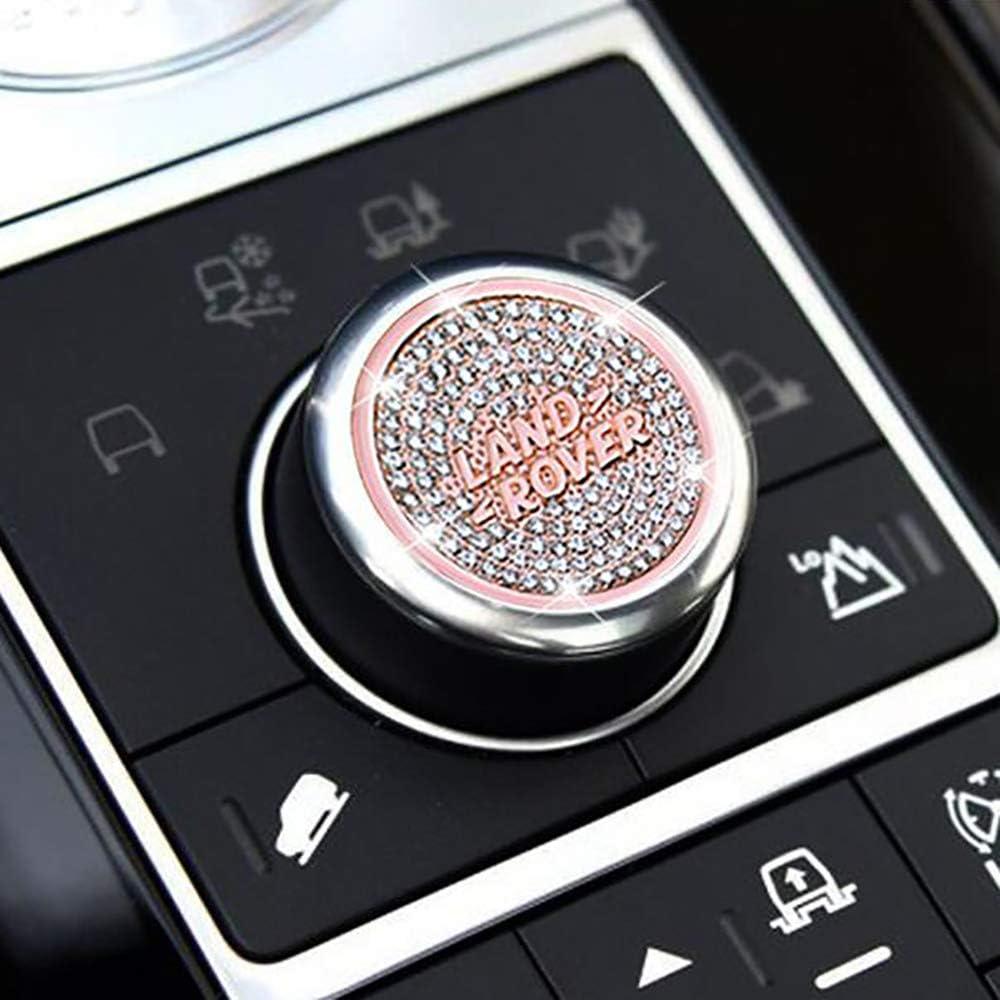 LAUTO Car Modeling Gear knob Sticker,Suitable for Jaguar XF XFL XE XJL XJ F-PACE,Gear Position Modification Accessories Decorative car Label,Silver,NO2