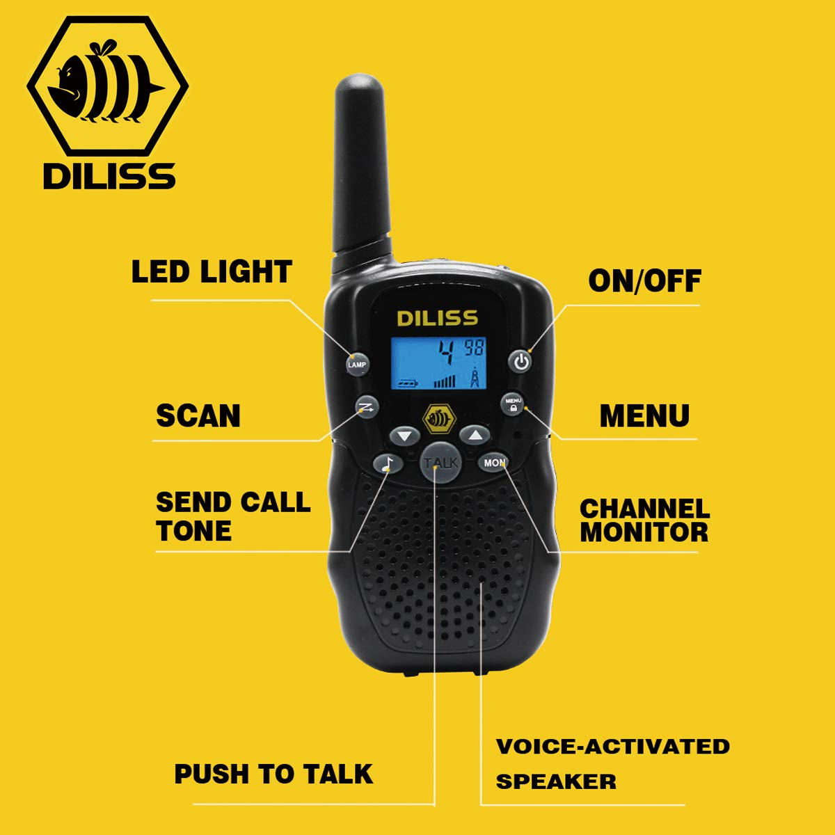 DilissToys Walkie Talkies for Kids by DilissToys (Image #2)