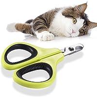 Cat Nail Clippers,Decdeal Cat Nail Scissors Cutter Trimmer for Kitten Puppy Rabbi Bird Ferret