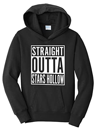Tenacitee Girls Straight Outta Options Hooded Sweatshirt